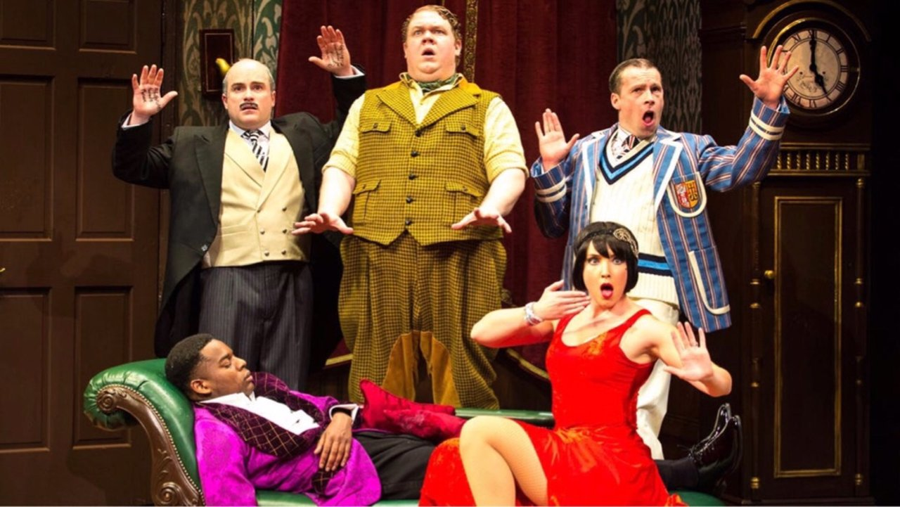 the play that goes wrong 分享
