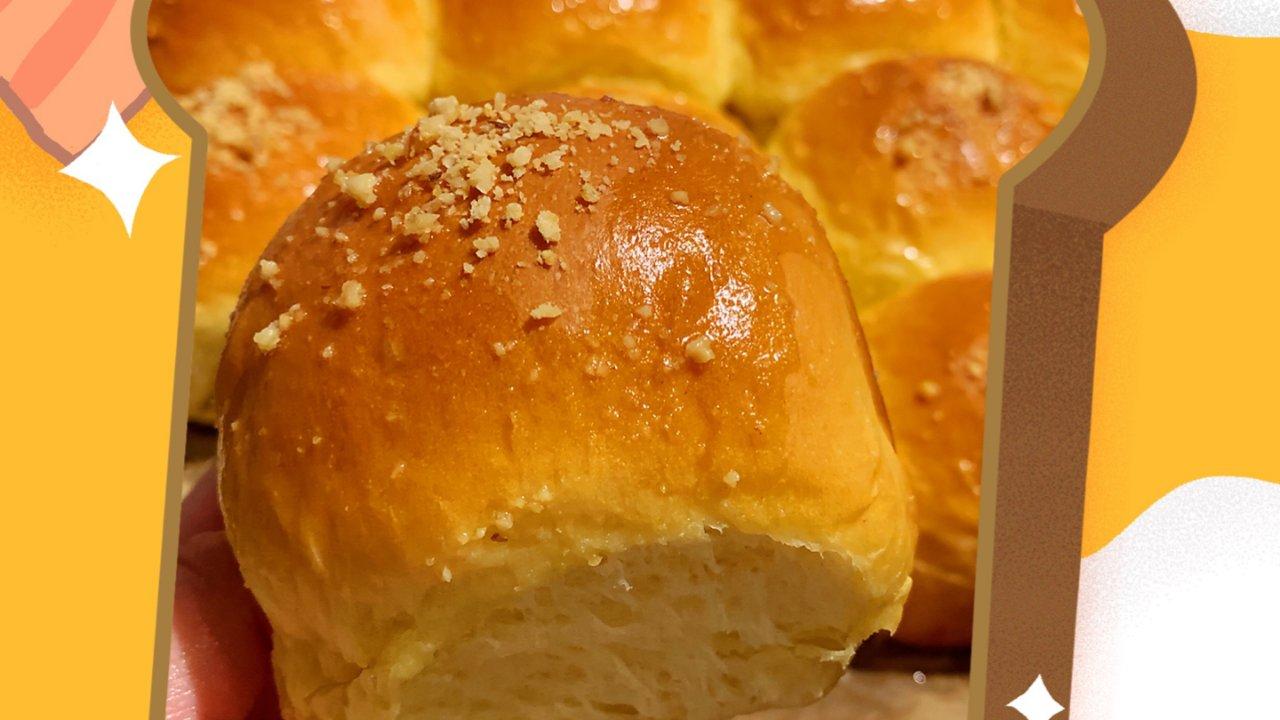 芒果酸奶面包