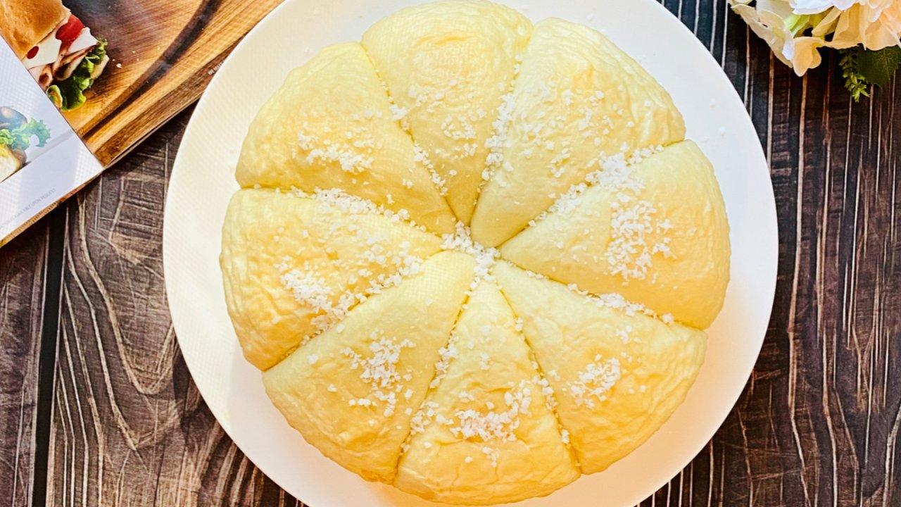 小白也会做,免烤箱版椰蓉面包