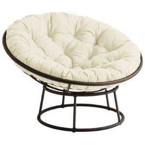 Outdoor Mocha Papasan Chair Frame | Pier 1 Imports