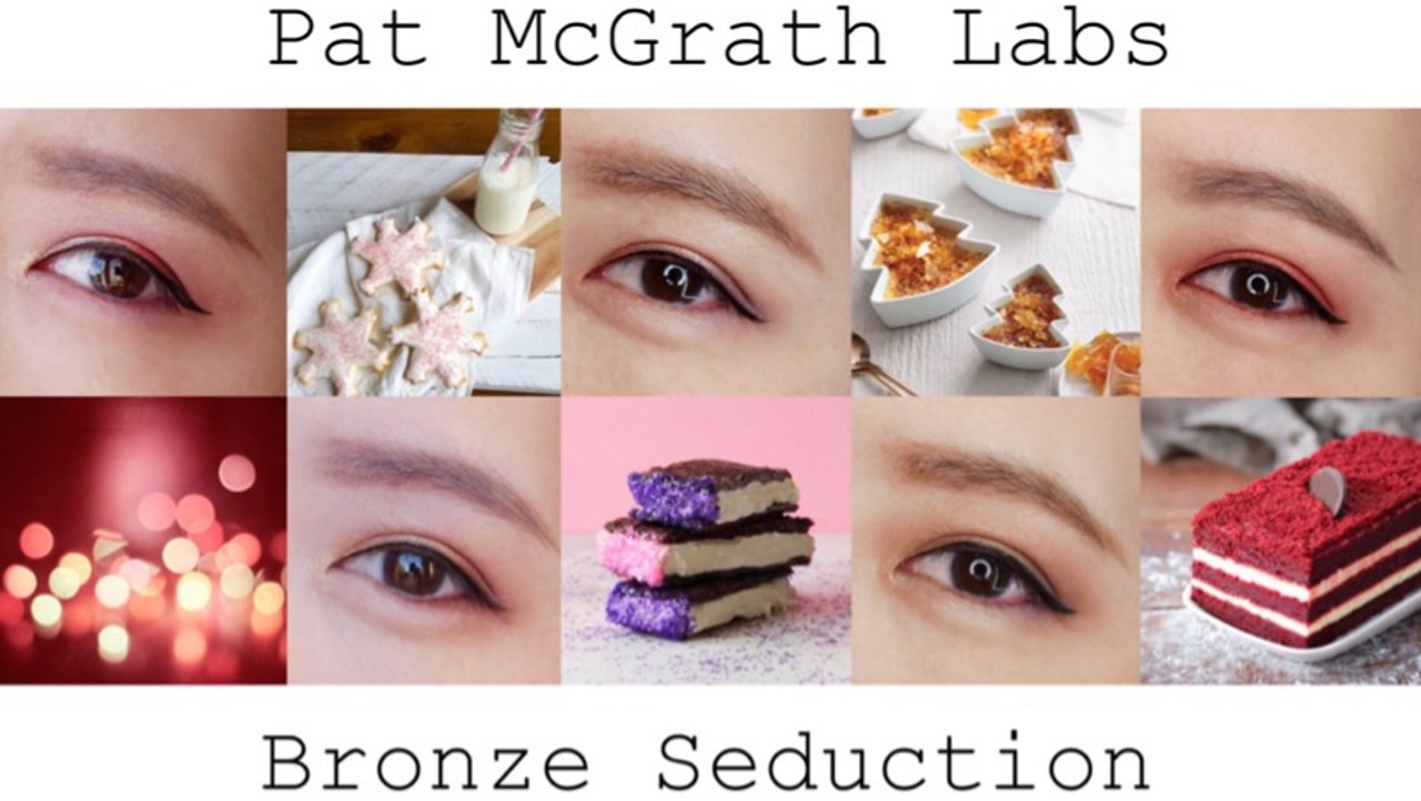 Pat McGrath Bronze Seduction 5种眼妆分享教程