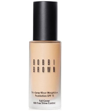 Bobbi Brown Skin Long-Wear Weightless Foundation SPF 15, 1 oz - Makeup - Beauty - Macy's