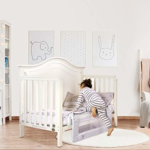 Amazon.com : Dream On Me Mesh Security Rail : Childrens Bed Safety Rails : Baby