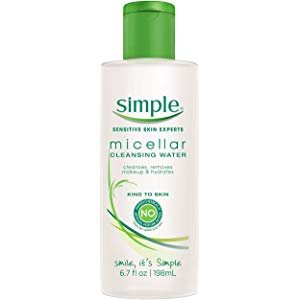 Amazon.com: Simple Micellar Cleansing Water, 6.7 Ounce (2 Pack): Beauty