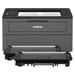 $149.99 预装硒鼓Brother HL-L2370DW XL 无线黑白激光打印机