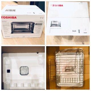【厨房必备省时神器】Toshiba 东芝机械小烤箱