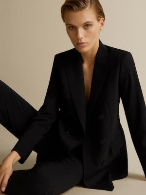 DOUBLE-BREASTED BLAZER - Women - Massimo Dutti