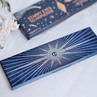 不只眼睛里有星星✨眼皮上还映着银河🌌CT 圣诞限定眼影盘眼妆分享