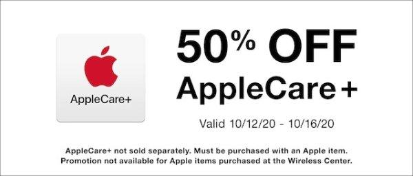 Costco 全场Apple Care +服务半价