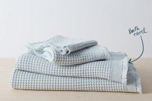 Stonewashed Waffle Bath Towel | Allswell Home