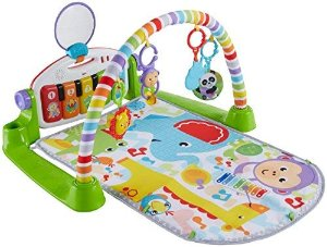 Amazon.com : Fisher-Price Deluxe Kick 'n Play Piano Gym : Baby