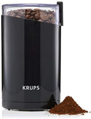 KRUPS Electric Coffee Grinder, Spice Grinder, Stainless Steel Blades