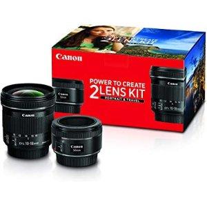 $799, 单独购买同样好价佳能双镜头套装 50mm f/1.4 + 17-40mm f/4L 镜头