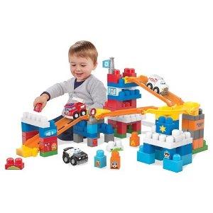 $19.99 收120粒Mega Bloks 大颗粒豪华救援中心 带3辆救援小车