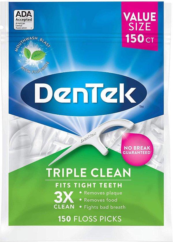 DenTek 强力牙线 150支大包装