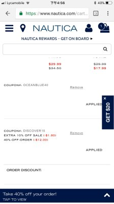 629657fb Nautica sale 40% off+extra 10% off - Dealmoon
