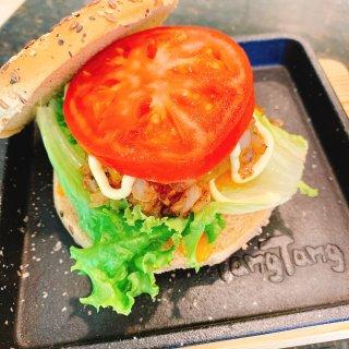 KaKa屋檐下之自制牛肉汉堡🍔和薯条🍟...