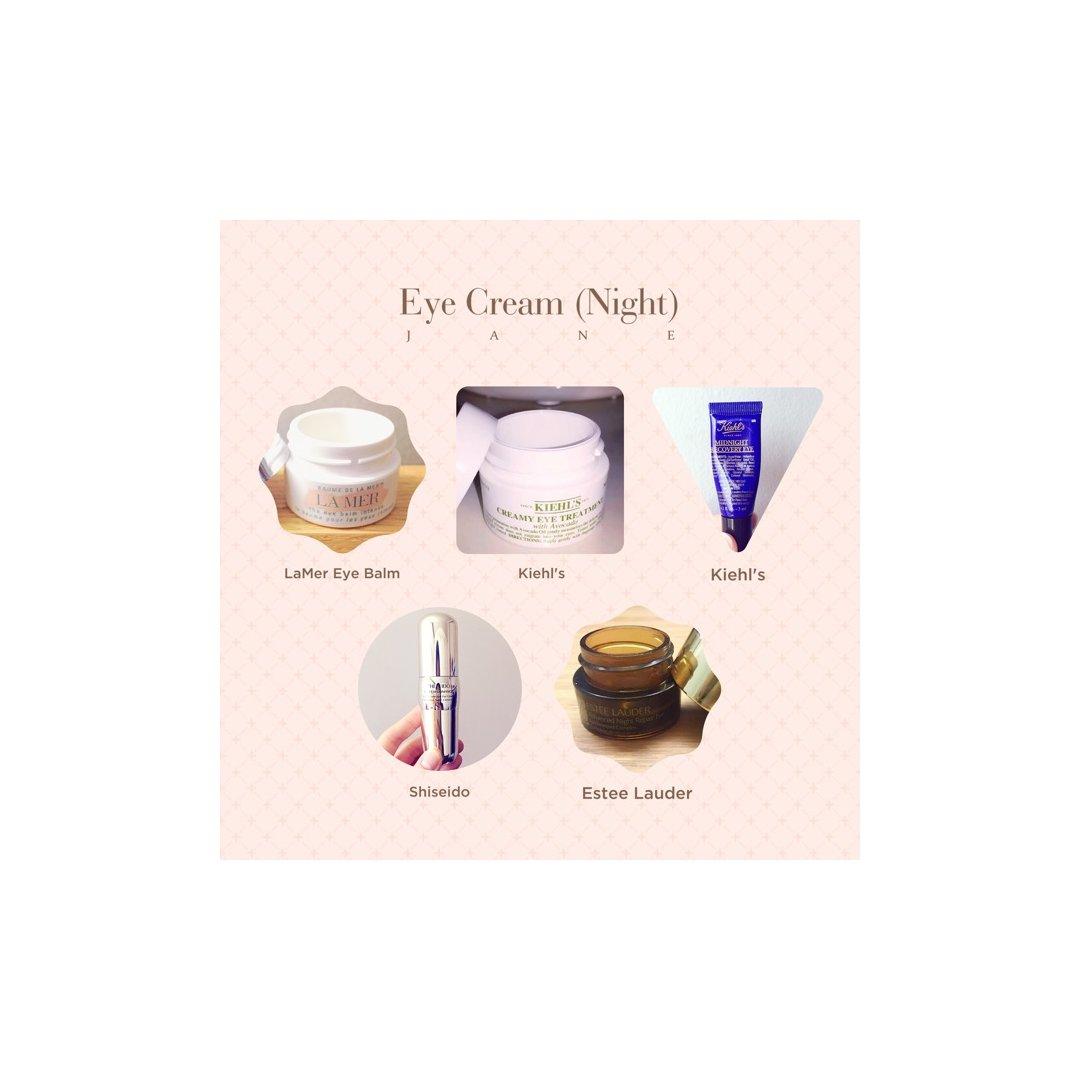 La Mer 海蓝之谜,Kiehl's 科颜氏,Kiehl's 科颜氏,Shiseido 资生堂,Estee Lauder 雅诗兰黛