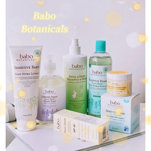 Babo Botanicals   敏感肌宝宝的秋冬洗护安利