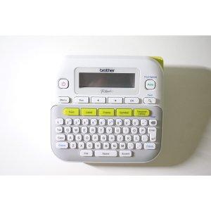 P-touch PTD400AD 全键盘多行标签打印机