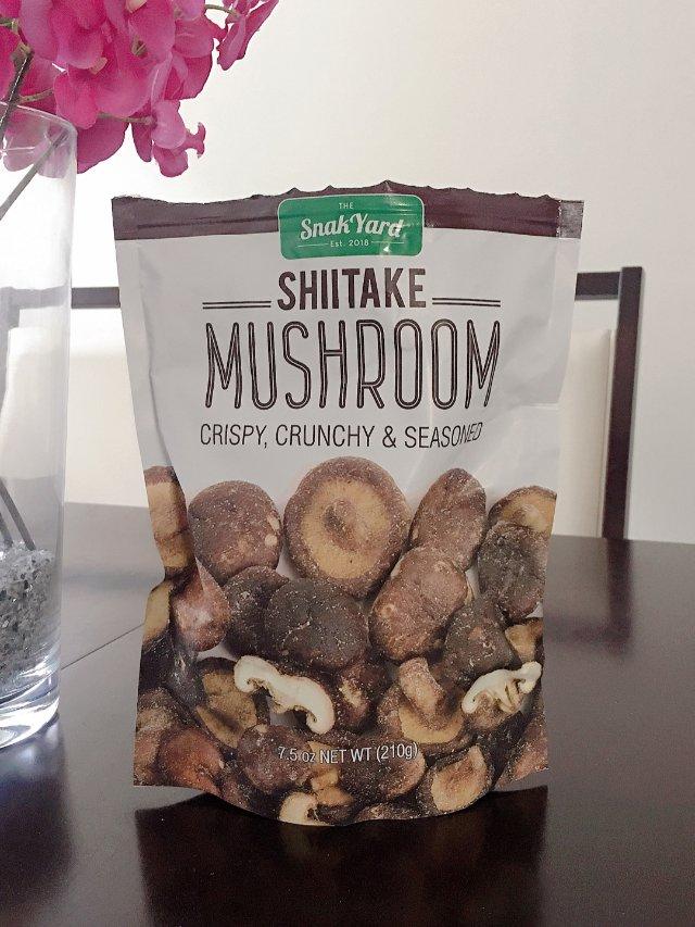 好吃到停不下来的蘑菇干🤤
