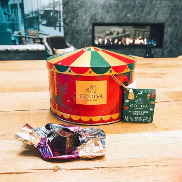 🎁 圣诞礼盒之Godiva巧克力🎄