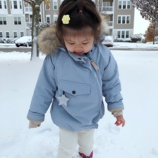 下雪啦!❄️ Mini a Ture...