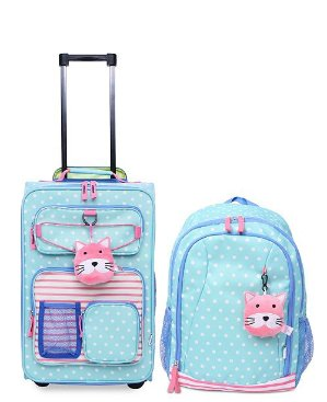 $56Crckt Kids 2-Pc. Printed Carry-On Suitcase & Backpack Set