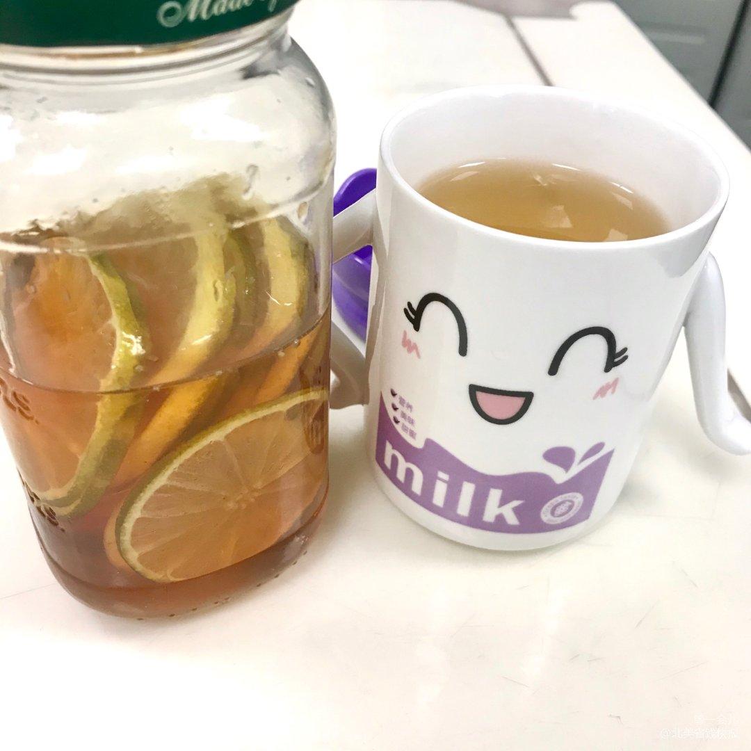 没有红枣枸杞,来杯柠蜜暖暖身!