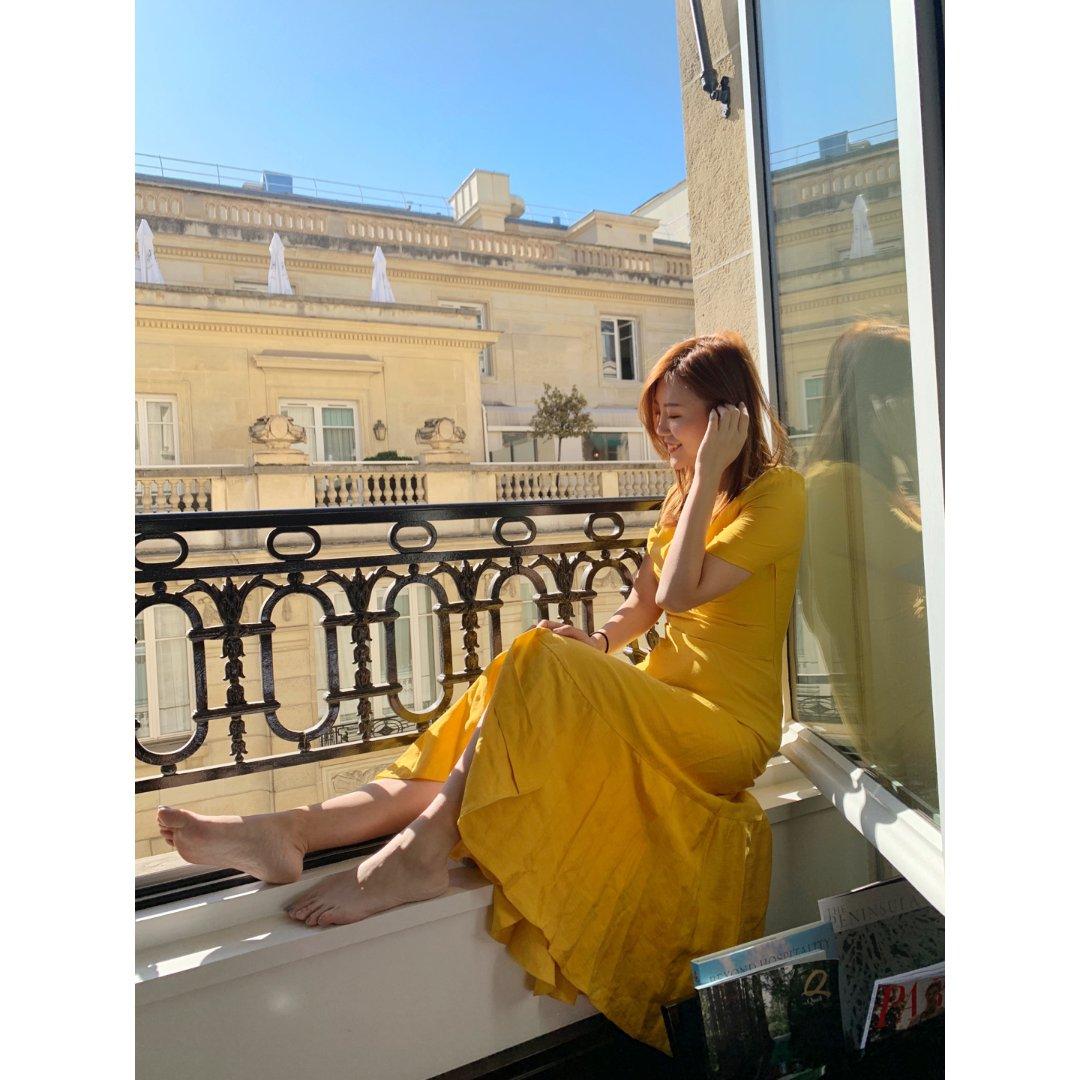 求求你们快去买这条黄裙子!!