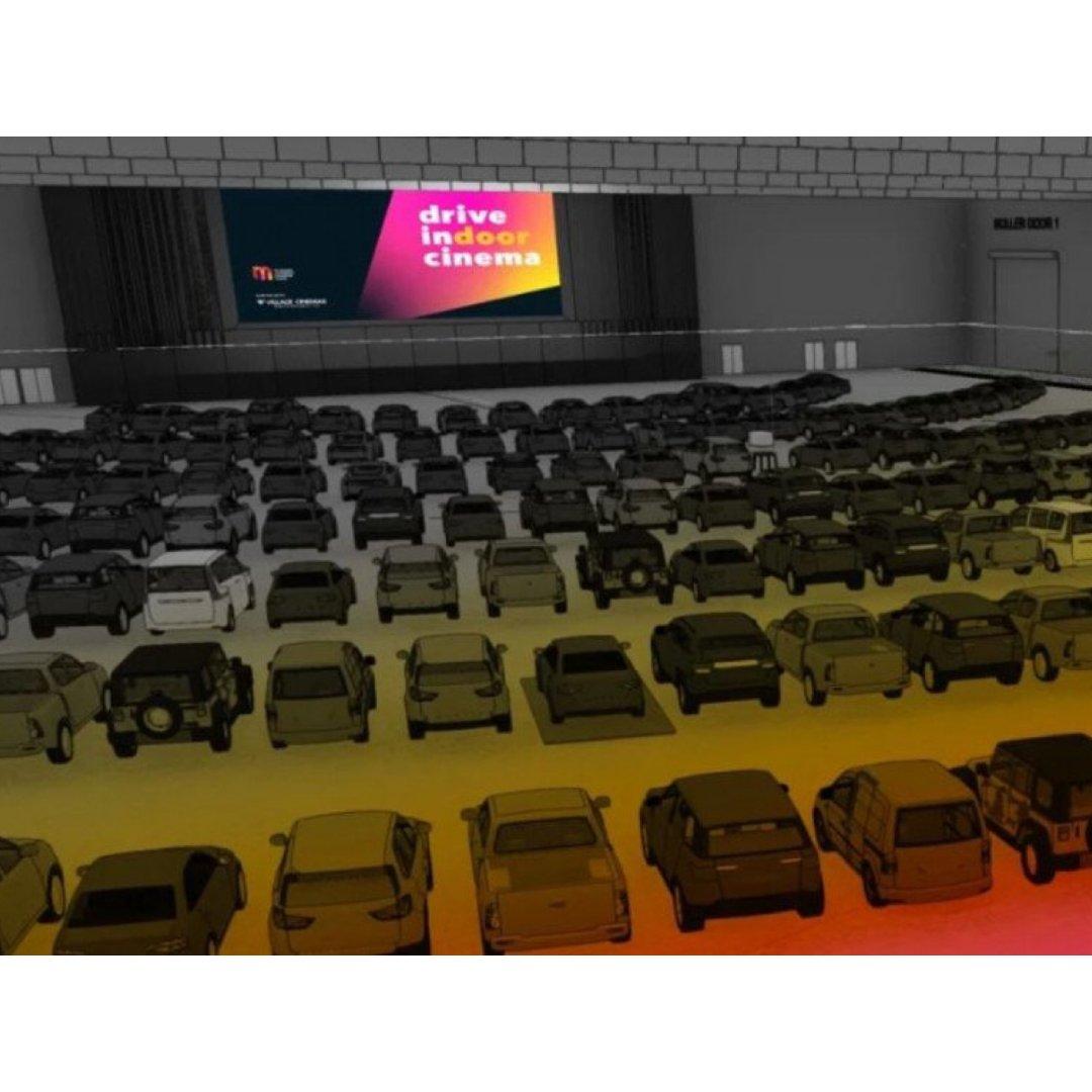 """全澳首个""""室内汽车影院""""墨尔本1.7开演..."""