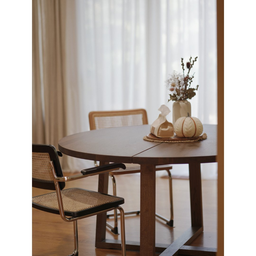 居家好物丨餐桌圆桌&餐椅,极简🤎温馨