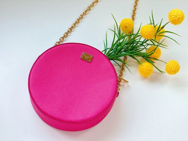 那些年我乱买的粉色包包之圆饼包