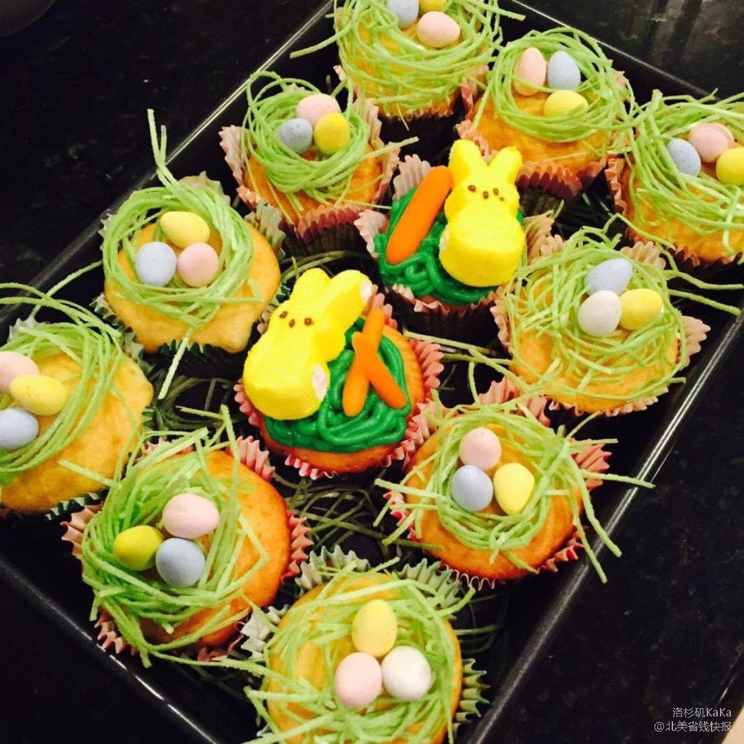 KaKa屋檐下之兔子捡彩蛋的复活节