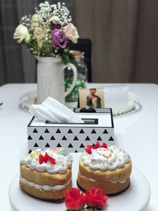 做俩小蛋糕🎂给君君庆生咯