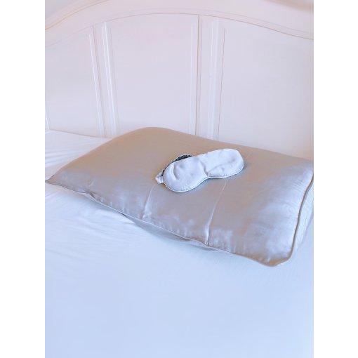 【微众测】精致女孩必备品🔛网易严选真丝枕套➕眼罩