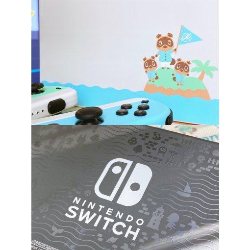 开箱|游戏|任天堂Switch动物之森限定版