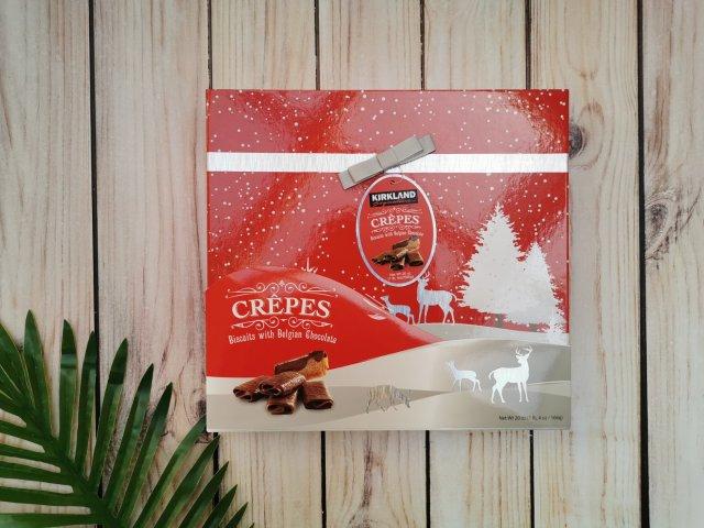 推荐这款好吃的巧克力薄脆饼干,送礼...