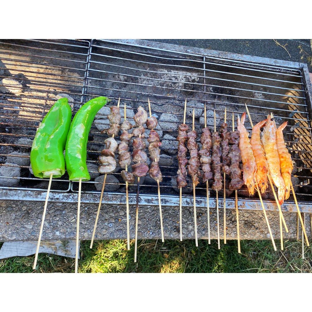 厨艺显摆👩🏻🍳烤串