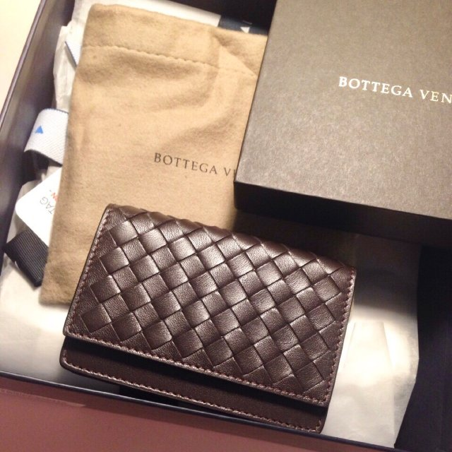 Bottega Veneta 编织小卡包