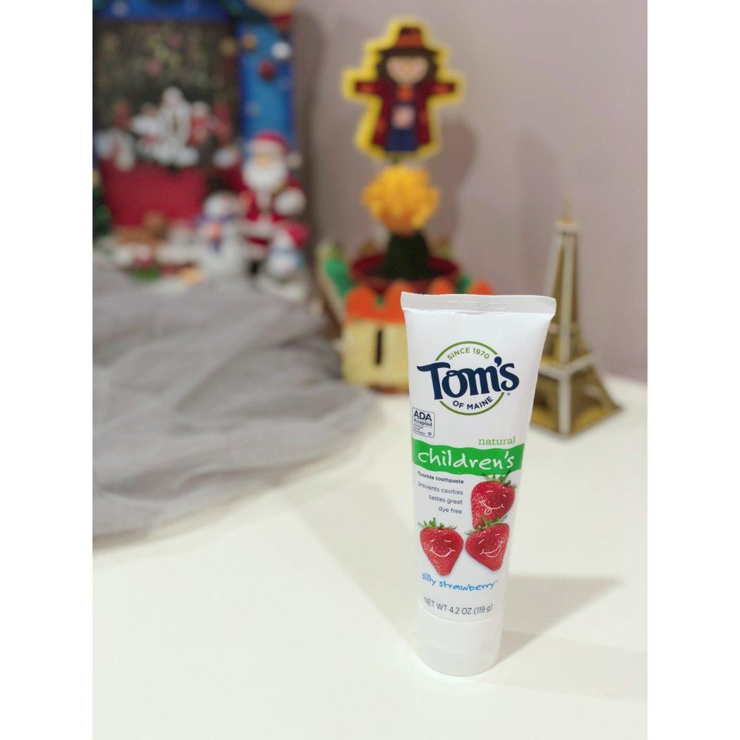 宝宝牙膏,我只用Tom's of ...