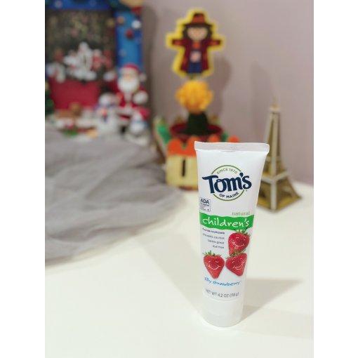 宝宝牙膏,我只用Tom's of Maine