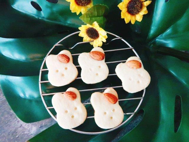 小兔子黄油饼干-怎么可以吃兔兔