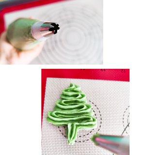 圣诞树抹茶曲奇饼干...
