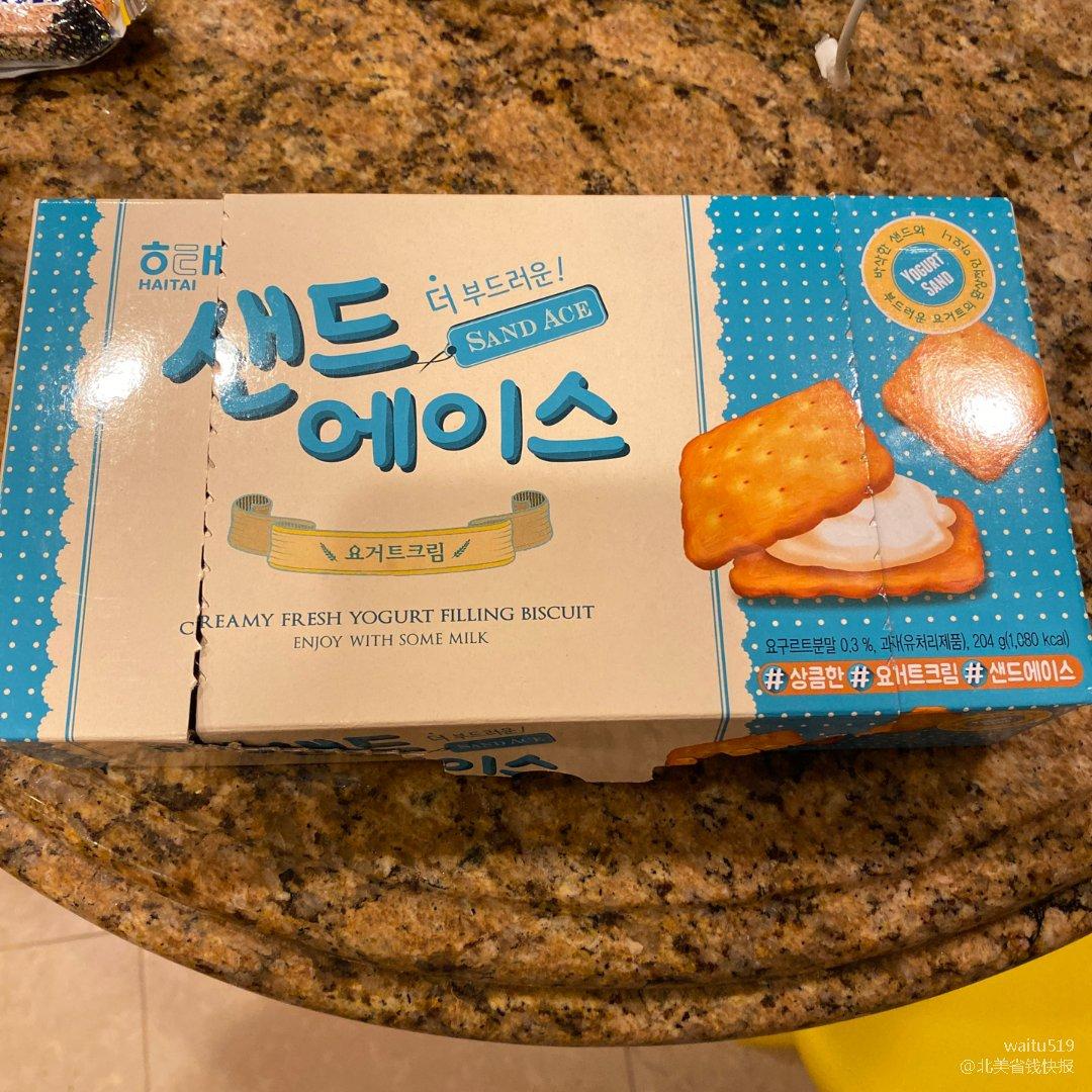 韩国小饼干
