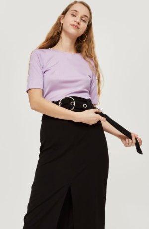 Topshop Ring Buckle Midi Skirt | Nordstrom