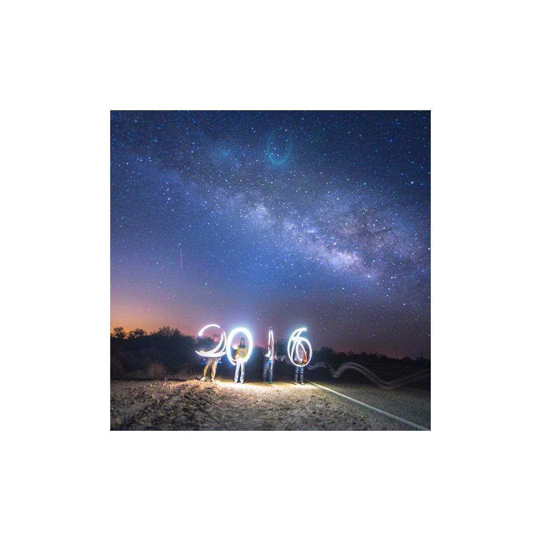 星野+初级光绘;镜头脏了所以照片稍...