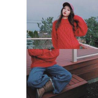 圣诞穿搭系列 | 过节就要穿🧧红毛衣❤️...
