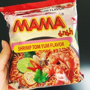30包仅售€14.55 合1包5毛不到MAMA 冬阴虾口味速食泡面降价补货 十大最好吃泡面之一