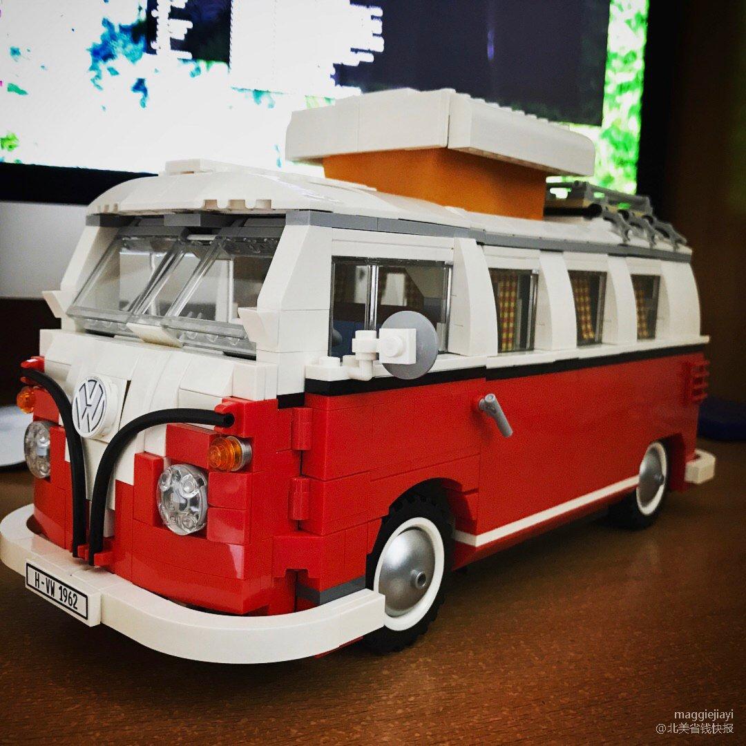 彩虹挑战 LEGO VW bus